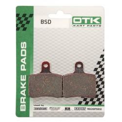 Plaquettes de freins KZ/OK BSD (2piéces)